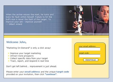 Beispiel einer Landing-Page einer AdWords Kampagne ohne Logo und sonstige klare Anbieterkennzeichnung