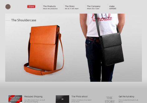 Bythreads - inspirierende E-Commerce Designs