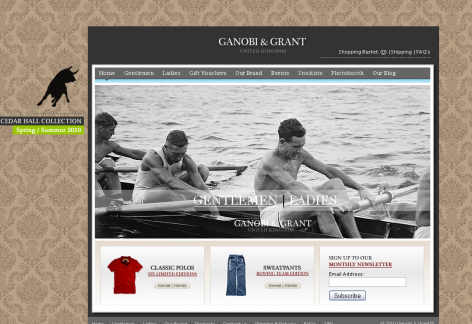 Ganobi Grant - inspirierende E-Commerce Designs