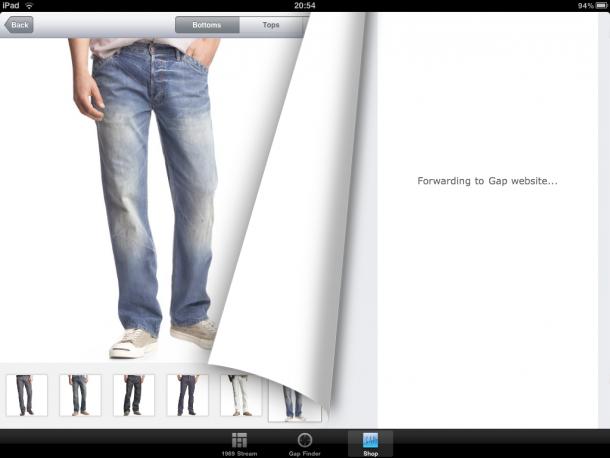 ipad-10-gap-warenkorb