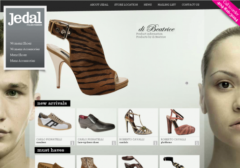 Jedal - inspirierende E-Commerce Designs