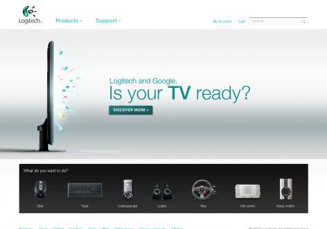 Logitech - inspirierende E-Commerce Designs