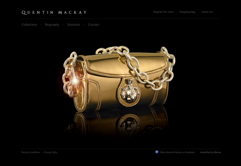Quentin Mackay - inspirierende E-Commerce Designs