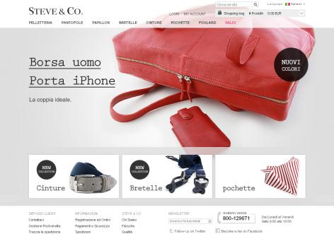 Steve Co - inspirierende E-Commerce Designs