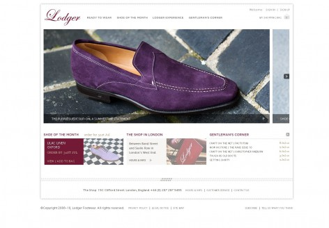 Lodger - Showcase Magento Shop Design