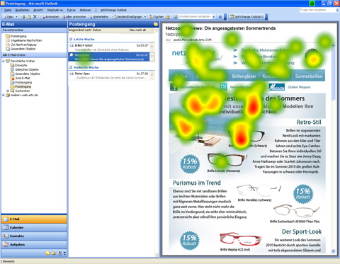 Newsletter Netzoptiker - Heatmap
