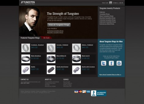 Tungsten - Showcase Magento Shop Design