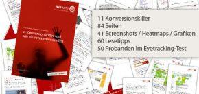 11 Konversionskiller und wie sie vermieden werden (kostenloses eBook)