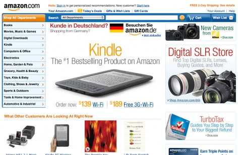 Internationalisierung E-Commerce Amazon