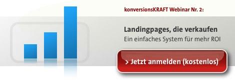 Landingpages, die verkaufen Webinar