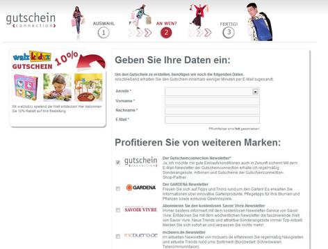Gutschein-Netzwerk - Gutscheinconnection