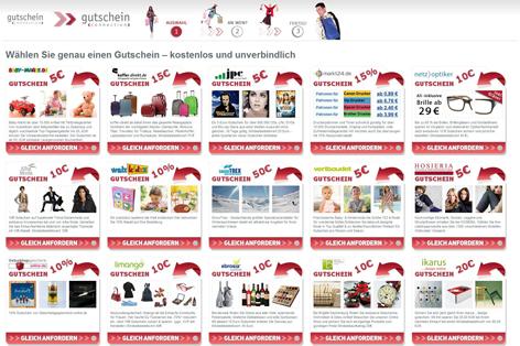 Gutschein-Netzwerk - viele Goodies