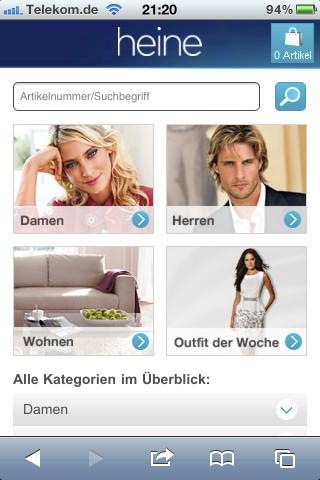 Heine Mobile-Shop