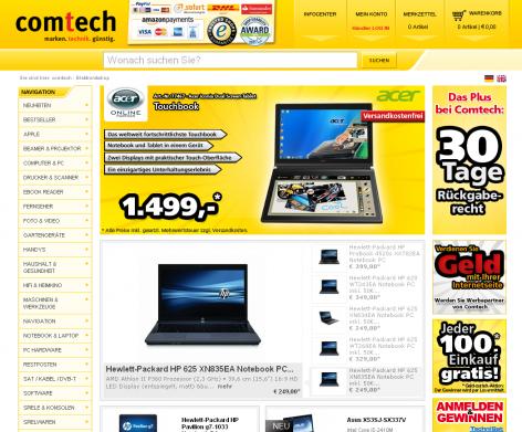 Amazon Checkout - comtech Warenkorb