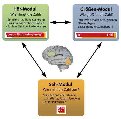 Triple-Code-Modell der Preiswahrnehmung