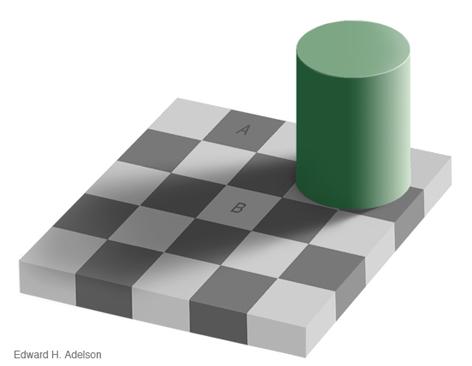 Optische Täuschung - Wahrnehmung