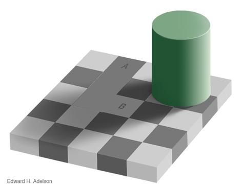 Optische Täuschung - Größenwahrnehmung
