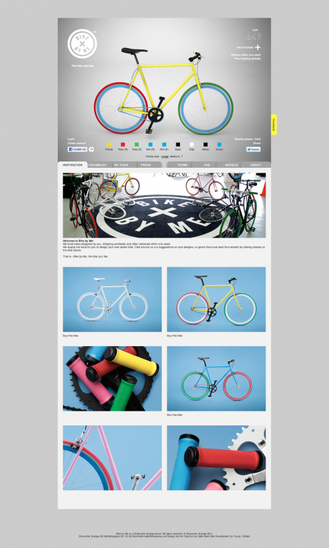 eCommerce Design Trends Bike by Me