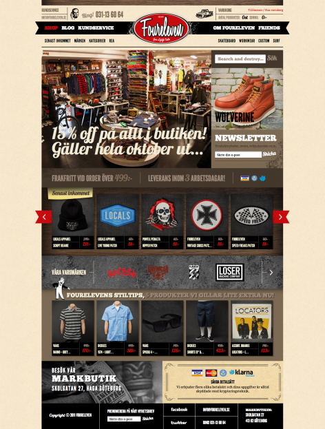 eCommerce Design Trends Foureleven