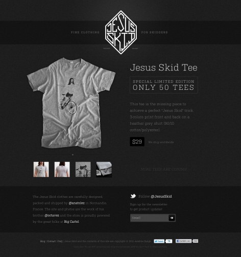 eCommerce Design Trends Jesus Skid