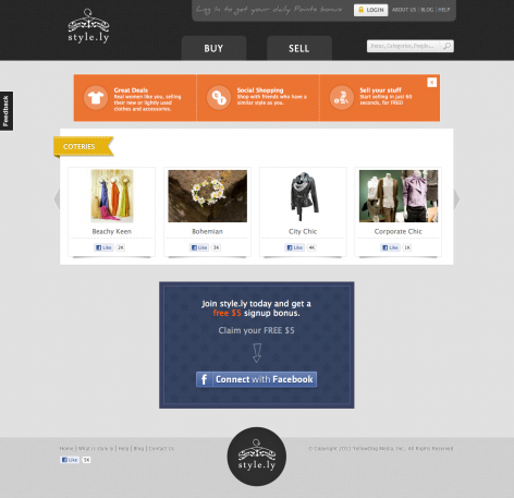 eCommerce Design Trends Style.ly