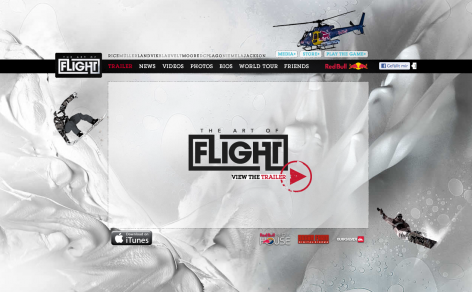 Art of Flight - Parallax Scrolling
