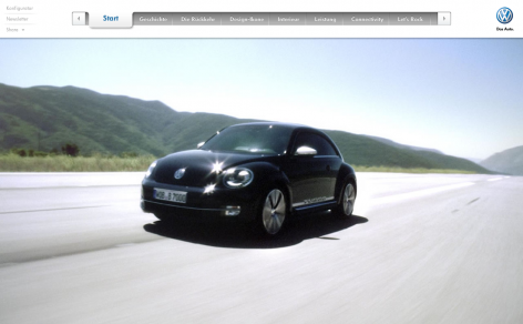 Beetle - Parallax Scrolling