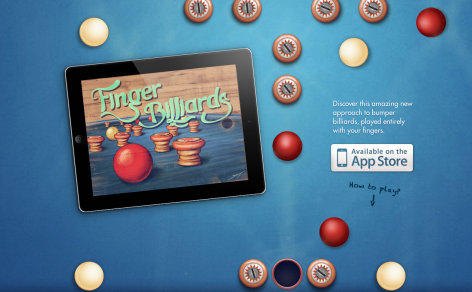 Finger Billiards- Parallax Scrolling