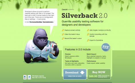 Silverback - Parallax Scrolling