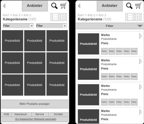 Mobile Commerce Pattern - Mini View