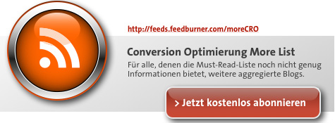 Conversion Optimierung - More List