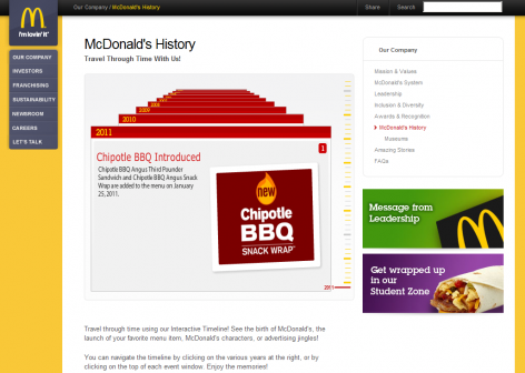 McDonalds - Über uns Team
