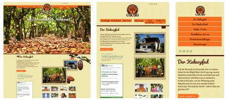 Responsive Webdesign - cacaotour.com