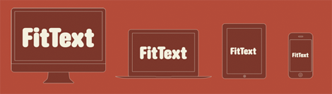 Responsive Webdesign - FitText