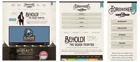 Responsive Webdesign - Forefather