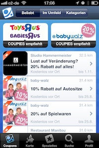 Mobile Couponing - Coupies Coupon Agebote