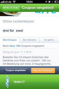 Mobile Couponing - Verknappung