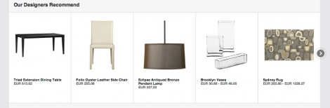 Cross-Selling Crate&Barrel
