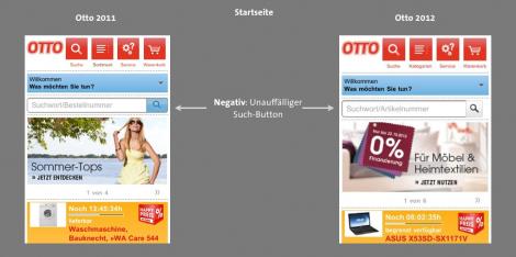 Otto Mobile Commerce Vergleich 2012