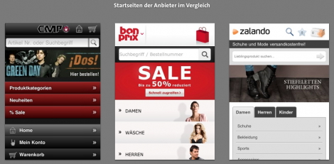 Mobile Checkout - Smartphone Shops in der Analyse