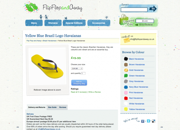 Design Trends 2013 - FlipFlop and Away