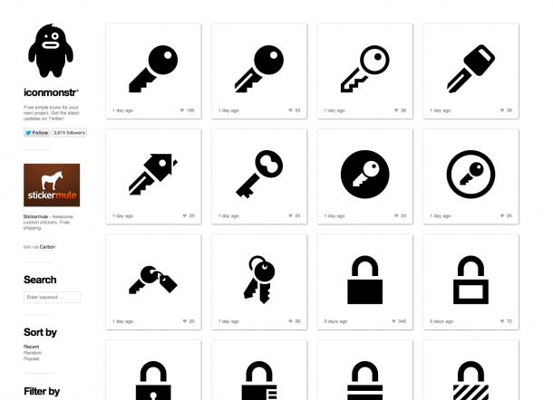 Design Trends 2013 - Iconographie Iconmonstr