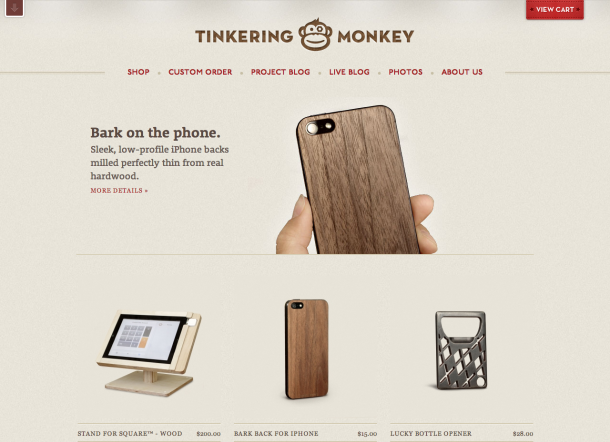 Design Trends 2013 - Typografie Tinkering Monkey
