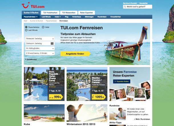 Design Trends 2013 - Flat Design TUI