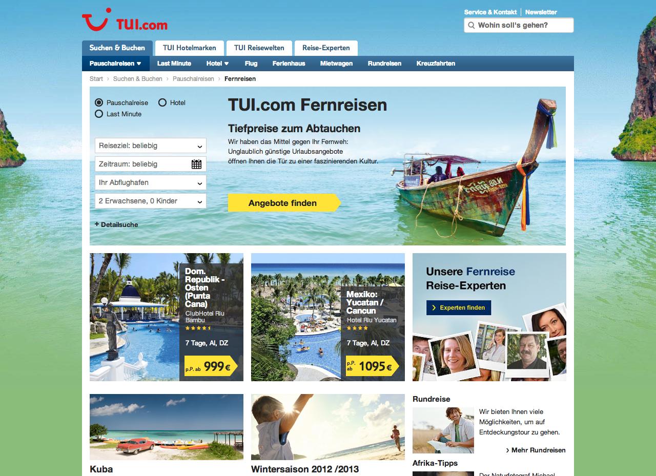 Webdesign-Trend Flat Design