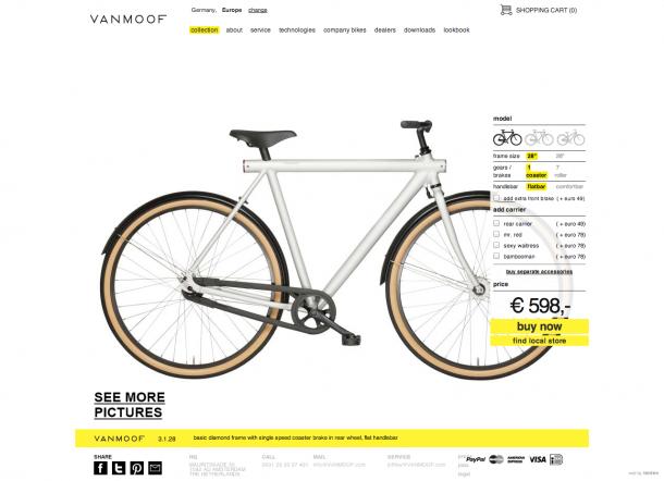 Design Trends 2013 - Flat Design Vanmoof