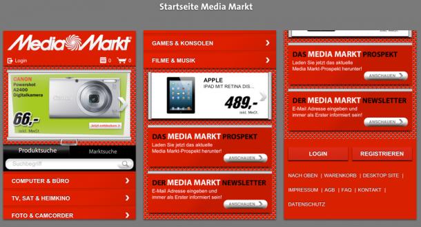 Startseite Media Markt Mobile