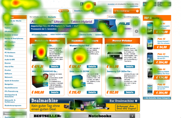Eyetracking Heatmap Notebooksbilliger