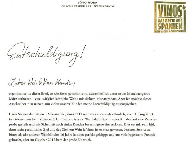 Kundenbindung durch Authentizität und emotionalen Trigger bei vinos.de