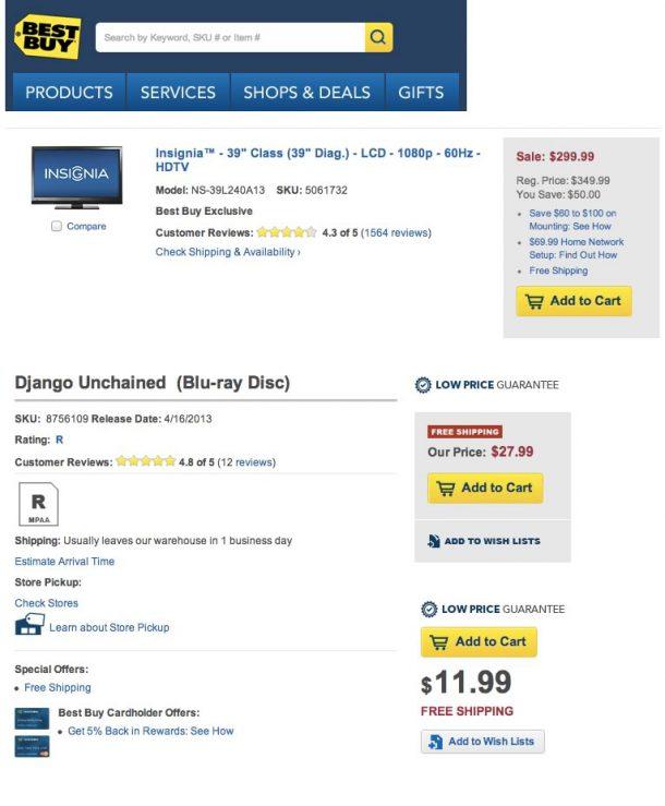Free Shipping bei bestbuy.com